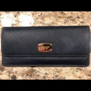 Genuine Michael Kors Navy Blue Wallet